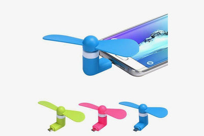 Mute Cool Small Fan For Android & USB