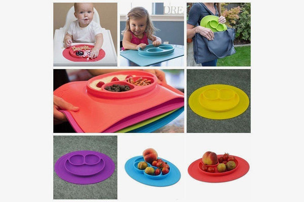 Anti-Spill Plate Mat - Phonebibi