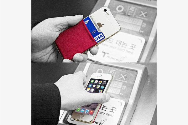 Adhesive Mobile Pocket - Phonebibi