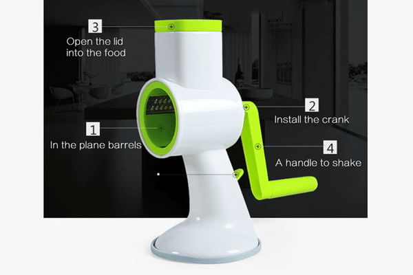 Amazing 3-Roller Vegetable Slicer - Phonebibi