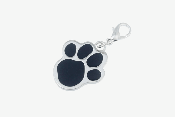 Cat Dog Collar Pendant Tags Pawprint Necklace - Phonebibi