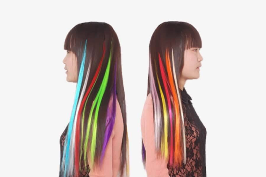 Clip on hair extension phonebibi color clip on hair extension phonebibi pmusecretfo Gallery