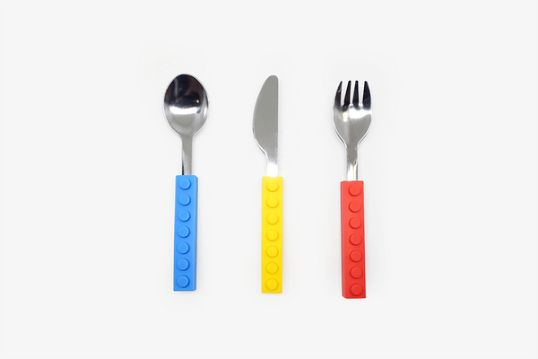 Brick Shape Stackable Cutlery Set - Phonebibi