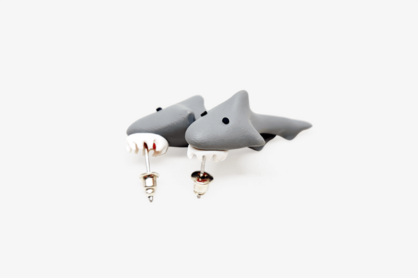 Jaws Shark Earrings
