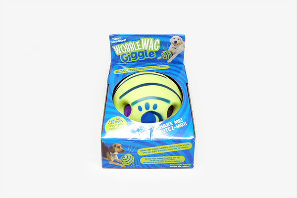 Wobble Wag Giggle Dog Ball - Phonebibi