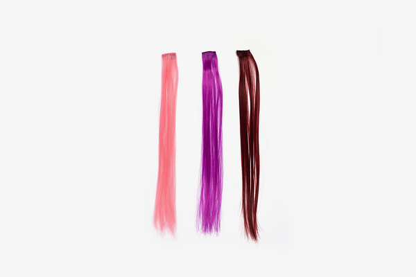 Color Clip On Hair Extension