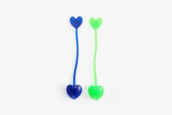 Heart Silicone Clips (Set of 4) - Phonebibi