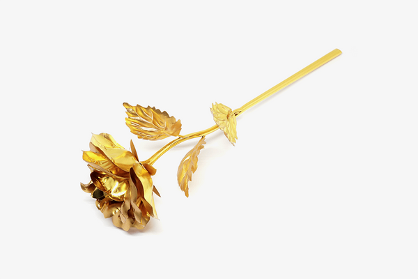 Glossy 24k Gold Foil Rose - Phonebibi