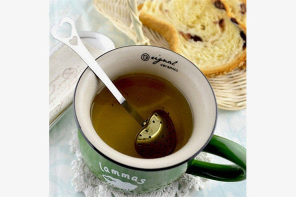 Durable Stainless Steel Tea Infuser Spoon - Phonebibi