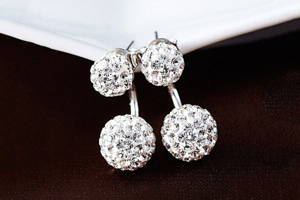 Premium Silver Bright Earrings