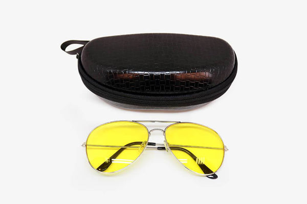 WoW! Nighthawk Glasses (Glasses Case Included)