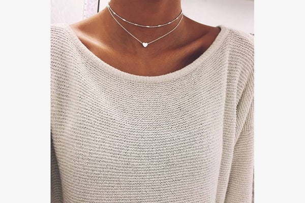 Minimalist Heart Necklace