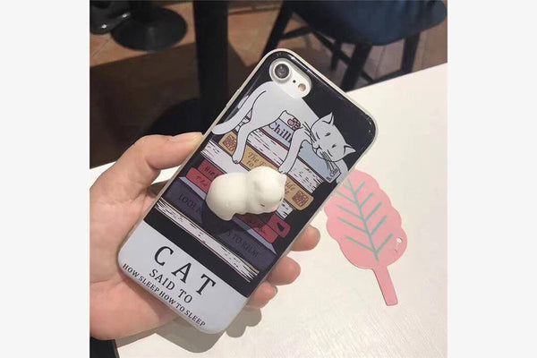 Squishy Cute Animal 3D iPhone Cases