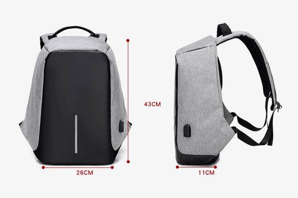 TronEra™ USB Charging Anti-Theft Laptop Bag