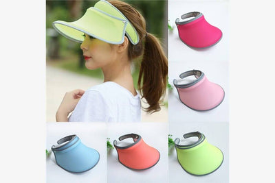 Anti-UV Retractable Folding Hat - Phonebibi