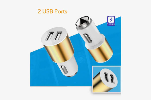 Safety 3-in-1 Duo USB Charger