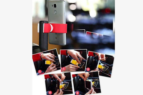 Double Grip Phone Holder - Phonebibi