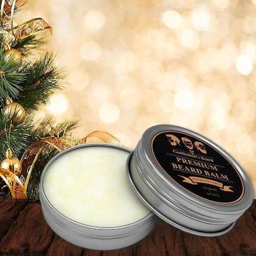 Beard Balm - Fragrance Free - Premium Leave-in Beard and Skin Conditioner & Softener - Best All Natural Organic Oils, Butters & Waxes for Men By The Gentlemen's Beard Hand Crafted in the USA