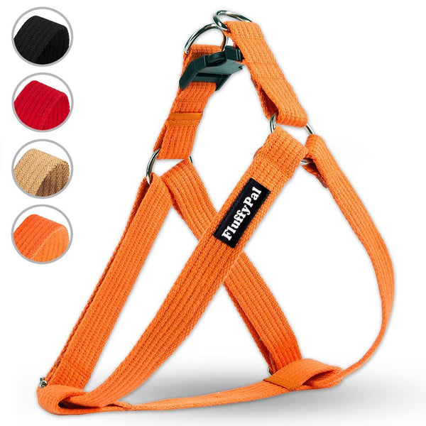 Cotton No Pull Harness For Small, Medium and Large Dogs