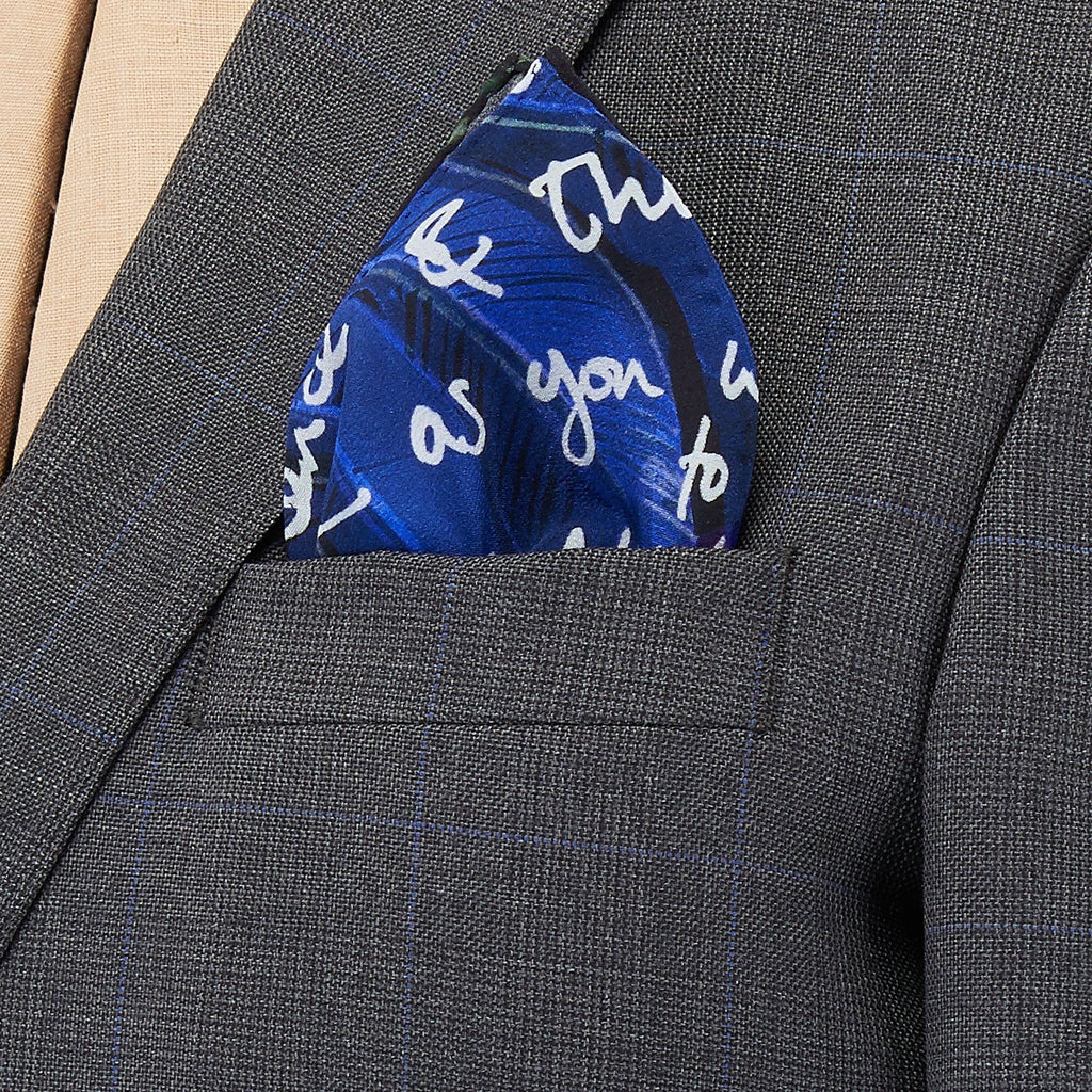 Be Bold Silk Pocket Square