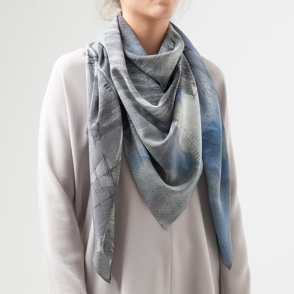 Harbour Silk Scarf