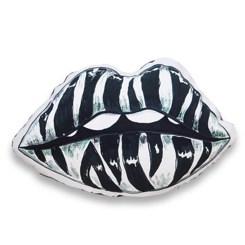 BLACK LIPS CUSHION