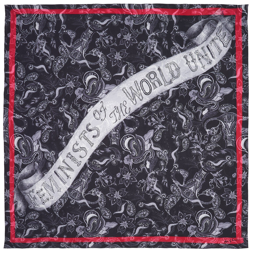 Feminists Of The World Unite Scarf