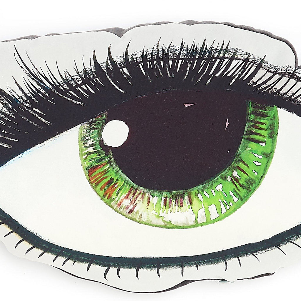 GREEN EYE CUSHION