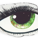GREEN EYE CUSHION -PRE ORDER