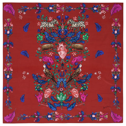 Lipstick Queen Silk Scarf