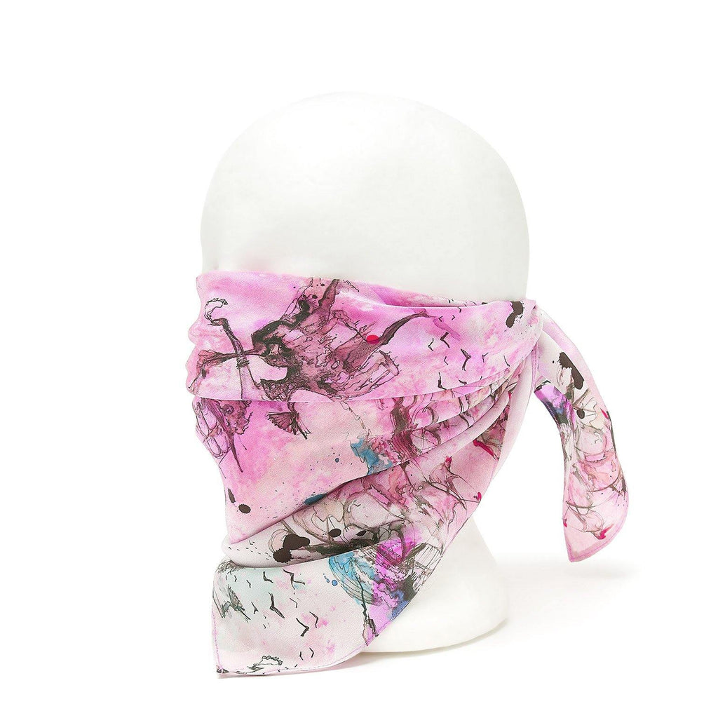 Silk Bandana Scarf - Pirate Queen