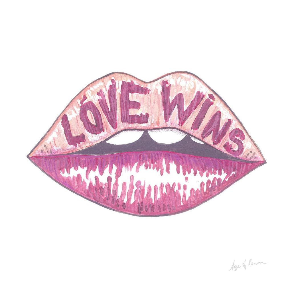 Love Wins Print - Limited Edition