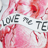 Love Me Tender Heart Cushion