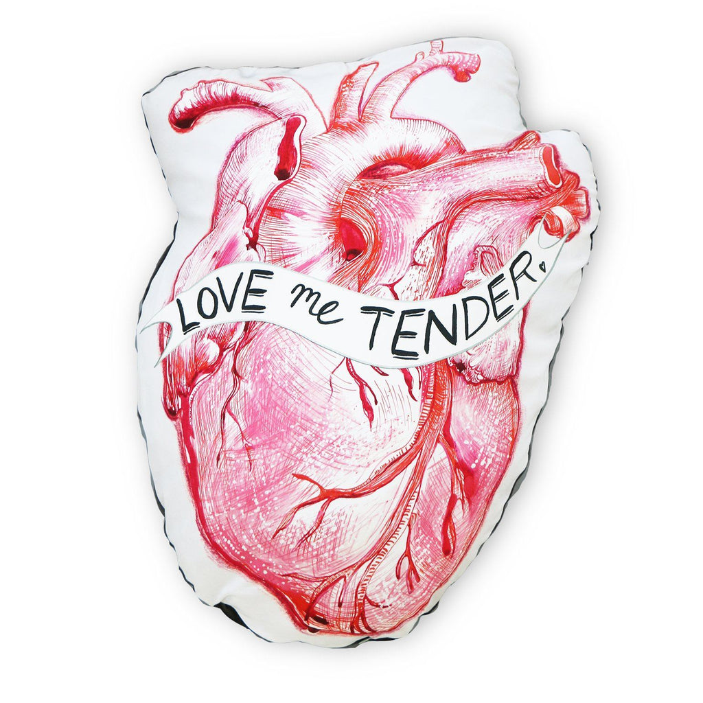 Love Me Tender Heart Cushion - PRE ORDER