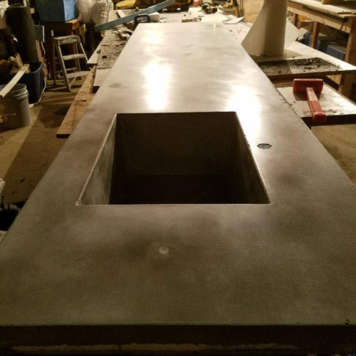 HOW TO MAKE A CONCRETE COUNTERTOP U0026 SINK