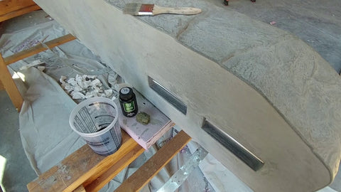 concrete mantle stocking hook