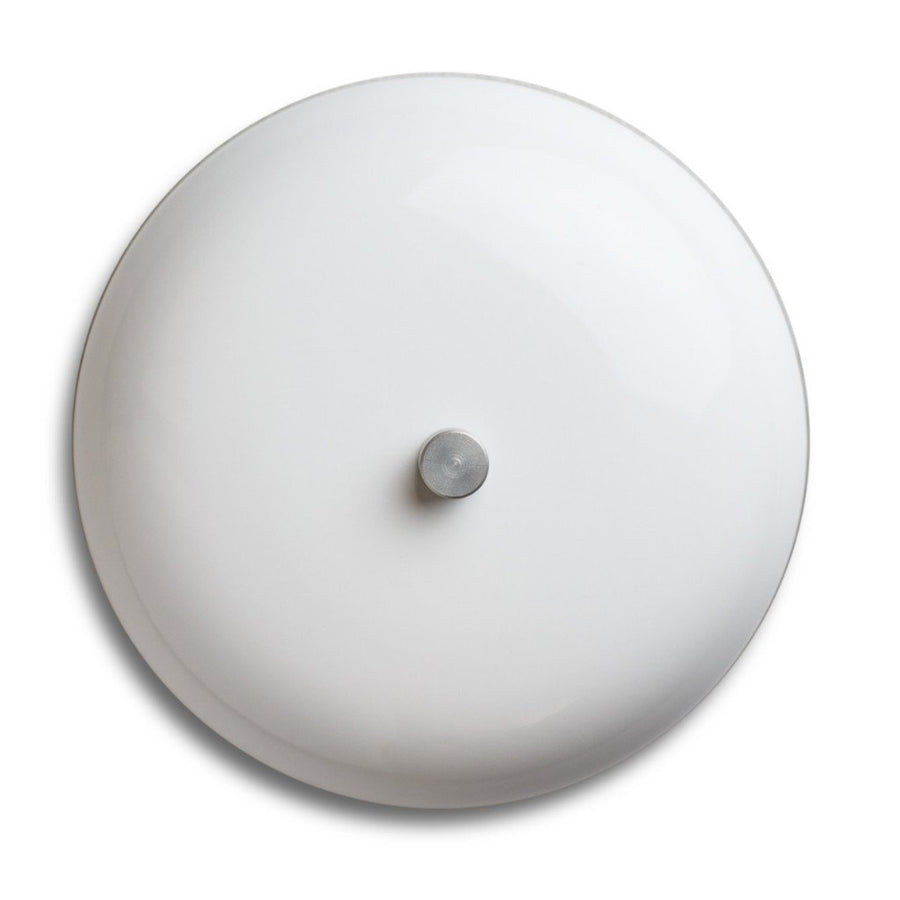 "Spore 6"" BIG RING Real Bell Doorchime- White"