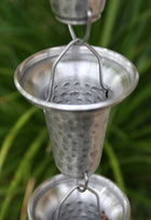 Rain Chain Flared Cups - Aluminum