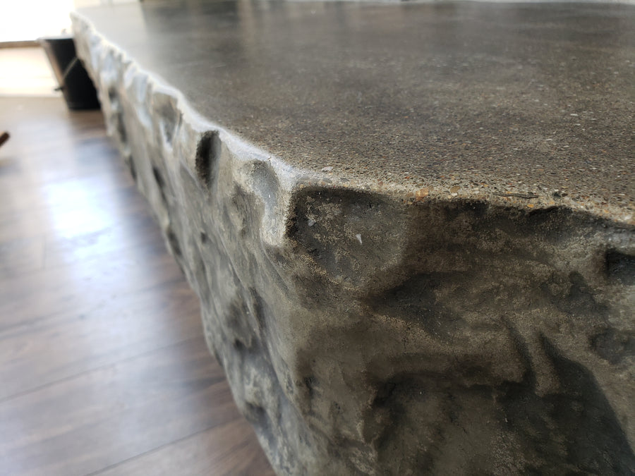 "Concrete Edge Form Liner - 6"" Rough Rock"