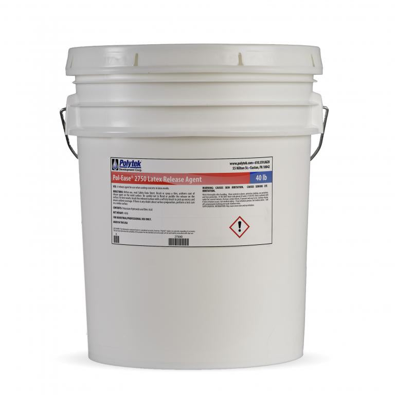 Pol-Ease 2750 Latex Rubber Release for Concrete