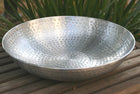 Hand Hammered Basin, Copper or Aluminum