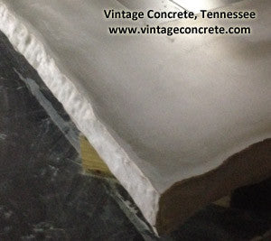 "Concrete Edge Form Liner - 3"" Chiseled Rock"