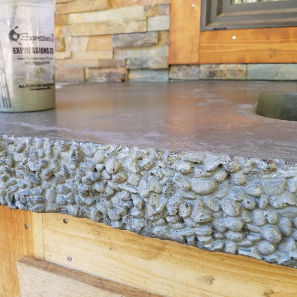 Expressions Ltd Concrete 3 Quot Pebble Stone Edge Form Liner
