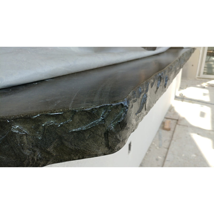 "Poolform Form Liner - 3"" Chiseled Slate Edge"