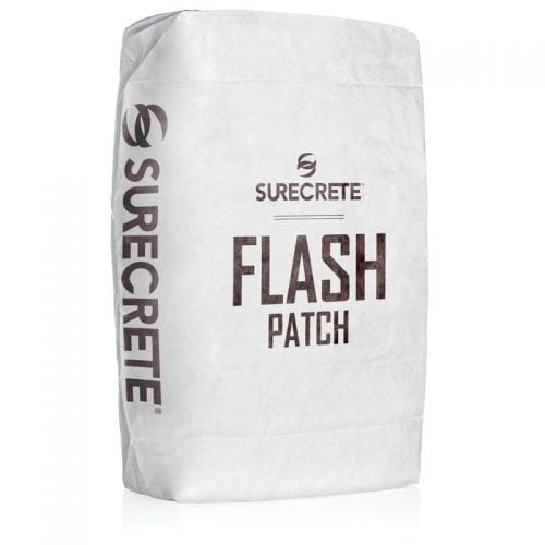 SureCrete Flash Patch - Concrete Fast Setting and Thin Repair (50 LB Size)