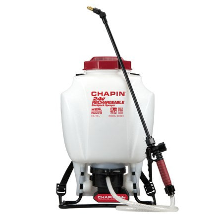 4 Gallon Battery Powered (24v Lio-Ion) Backpack Sprayer