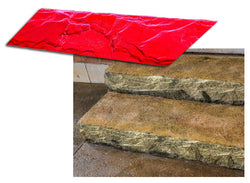 "Concrete Step Insert Form Liner - 7.25"" Split Slate"