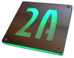 Custom Backlit Number / Signage