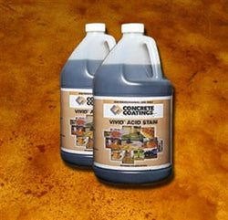 Concrete Acid Stain, 1 Gallon