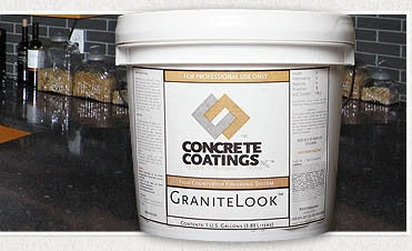 Concrete Coating Overlay- Granite Look Gallon